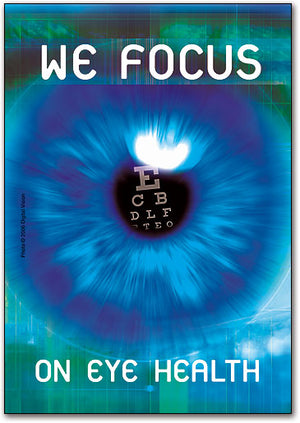 We Focus Postcard