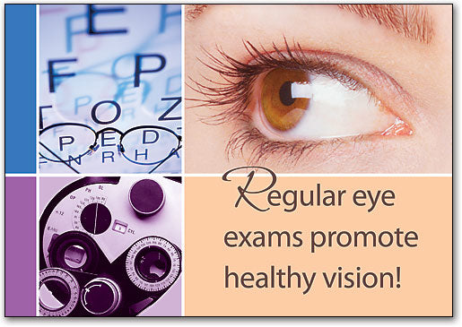 Regular Eye Exams Postcard