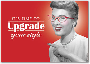 Upgrade Your Style Postcard