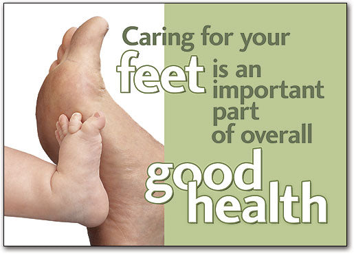 Caring For you Your Feet Postcard
