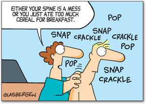 Snap Crackle Pop Postcard