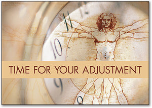 Time for Your Adjustment Postcard