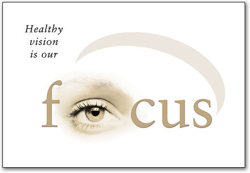 Healthy Vision Our Focus Postcard