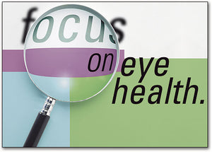 Focus on Eye Health Postcard