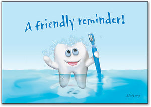 Tooth - Friendly Reminder Postcard