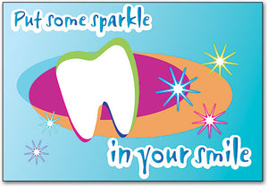 Sparkle In Your Smile Postcard