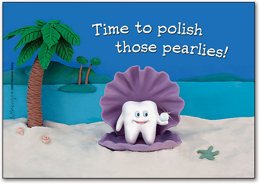 Pearlies Postcard