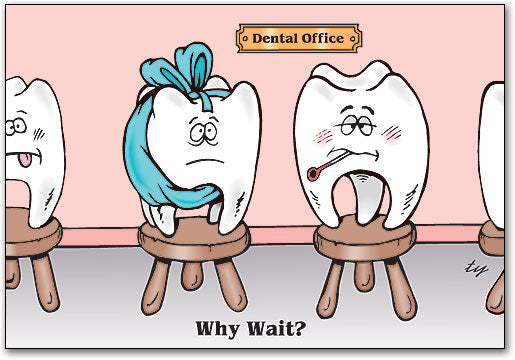 Dental Line-up Postcard