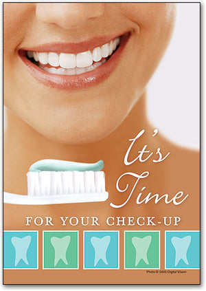 It's Time - Teeth Postcard