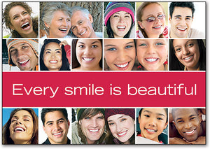 Every Smile Is Beautiful Postcard