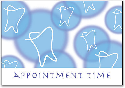Appointment Time Dental Postcard