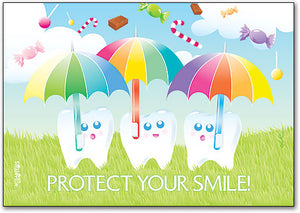 Protect Your Smile Postcard