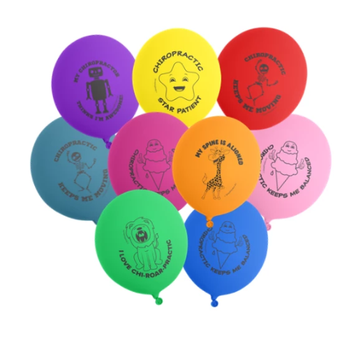Chiropractic Balloons ( Pack of 100 )
