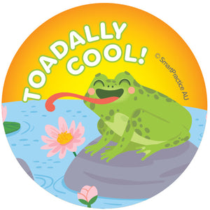 Toadally Cool Sticker