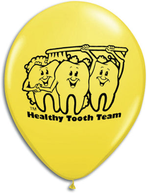 Healthy Tooth Team Dental Balloons