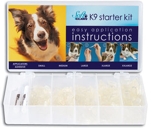 Soft Claws Dog Clear Starter Kit