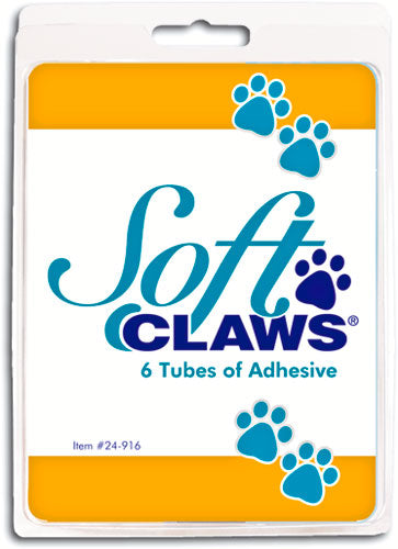 Soft Claws® Adhesive Refill 6 pack