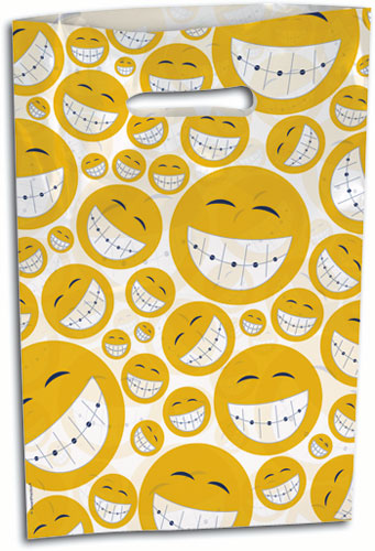 Happy Smiling Faces Supply Bag