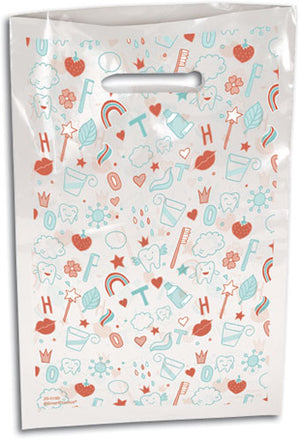Sweetest Smile Scatter Print Supply Bag