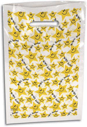 Small Star Smiles Scatter Print Supply Bag