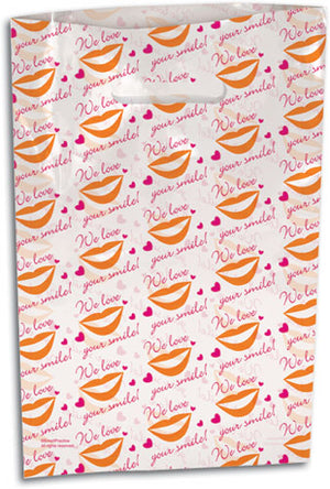 Love Your Smile Scatter Print Supply Bag