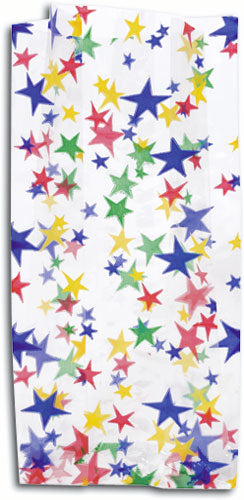 Large Bright Stars Scatter Print Bag