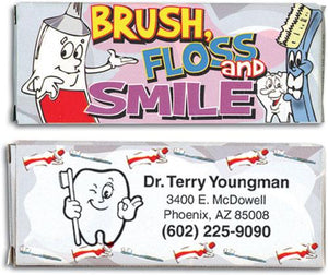 Personalised Dental Theme Crayons