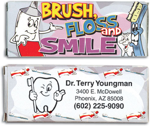 Personalized Dental Themed Crayons