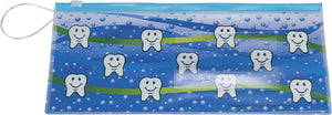 Tooth Design Dental Zipper Pouch