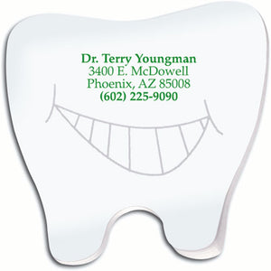Tooth Sticky Notepad