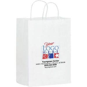 Full Color Paper Bag with Handle