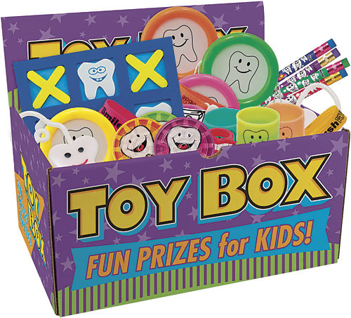 Value Dental Toys with Toy Chest
