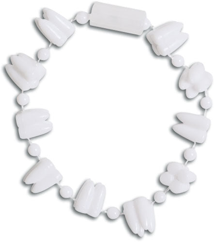 White Tooth Bracelets