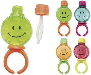 Smile Face Bubble Rings