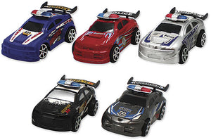 Pull Back Police Car Assortment