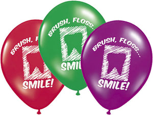 Dental Balloon (Brush, Floss...Smile!)