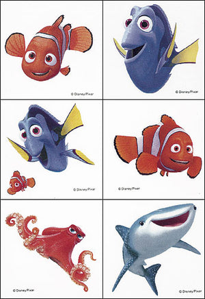 Finding Dory Temporary Tattoos