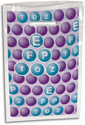 Bubbles Eye Chart Supply Bag Large