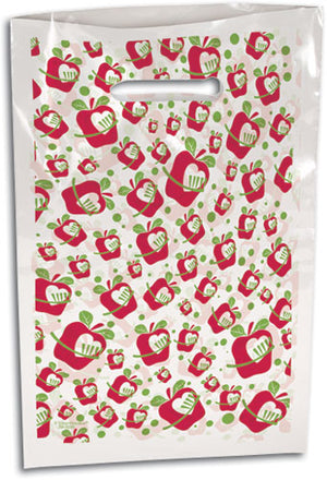 Apple a Day Scatter Print Supply Bag - Large