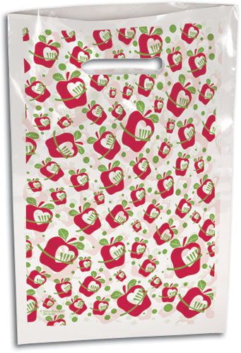 Small Apple a Day Scatter Print Supply Bag