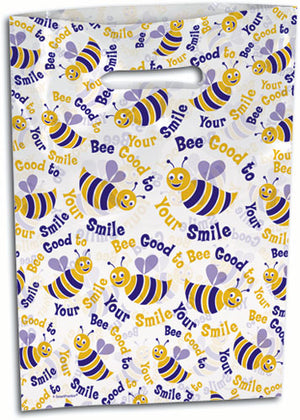 Busy Bee Scatter Print Supply Bag Large