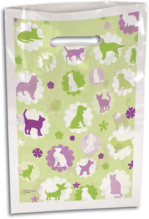 Dogs & Cats Line green/purple Supply Bag