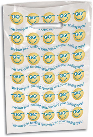 Smiling Eyes Scatter Print Supply Bag (Large)