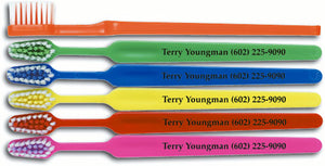Personalised Multi-Colour Child Toothbrush