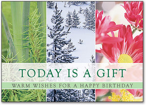 Today is a Gift Postcard