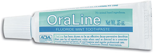 0.85 oz Tube Fluoride Mint Toothpaste