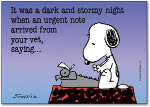Dark and Stormy Postcard