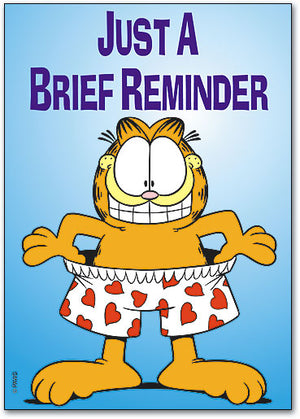 Brief Reminder Postcard