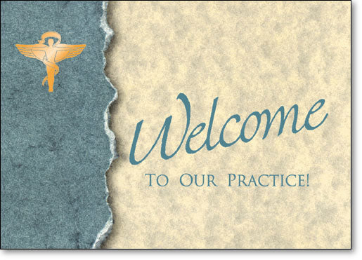 Chiro Welcome Folding Card