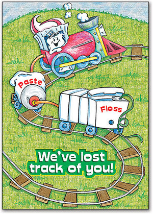 Lost Track of You Postcard